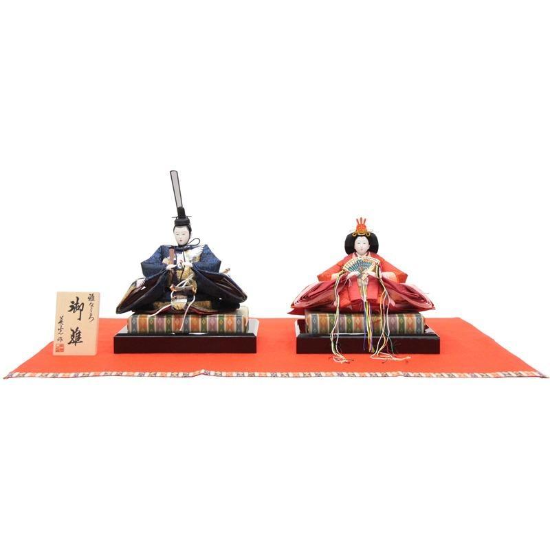 アウトレット品 雛人形親王単品 京十番親王 鶴刺しゅう 21ya2001 2-23003