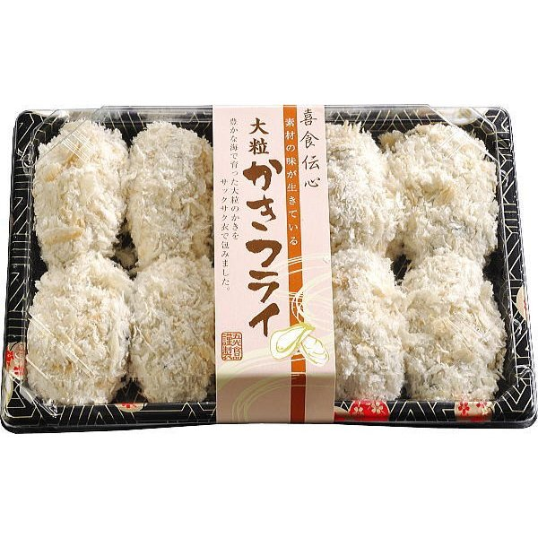 かきフライ 大粒10粒 冷凍食品 宮城県産 お惣菜 カキ goko-h 02