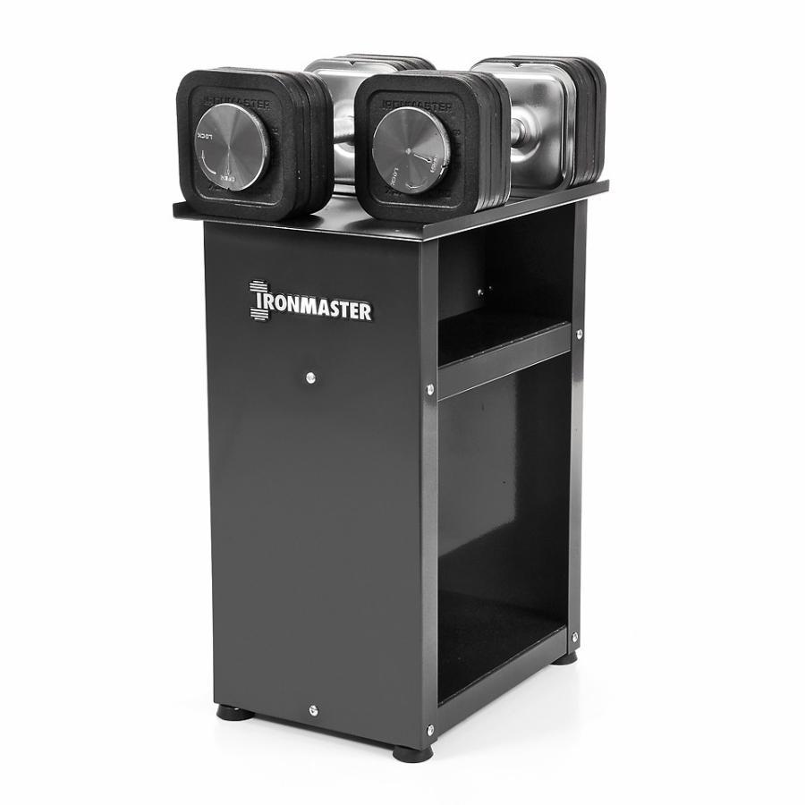 [Ironmaster] クイックロックダンベル68kg+専用ラック バリューセット