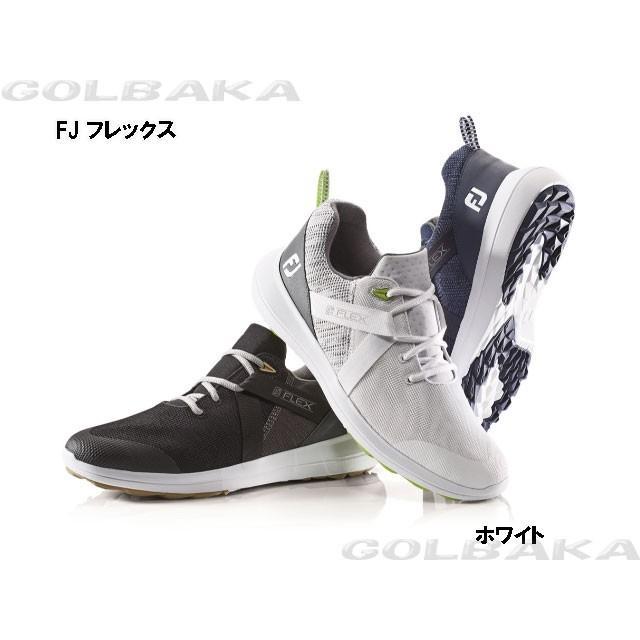 【新品】【メンズ】【ゴルフシューズ】 FootJoy/フットジョイ FJフレックス スパイクレス  56101 ホワイト