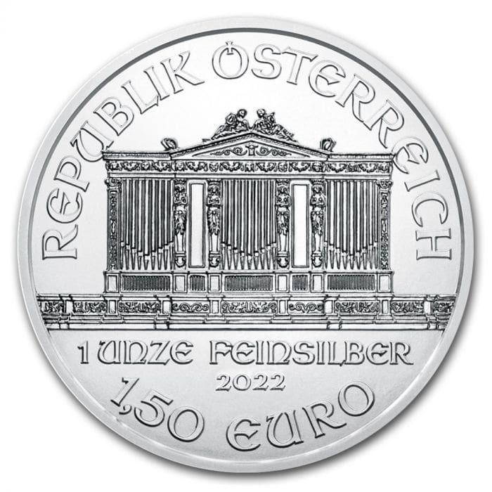 [保証書・カプセル付き] 2021年 (新品) オーストリア ウィーン銀貨 フィルハーモニー 1オンス 純銀貨 gold-ichiba 02