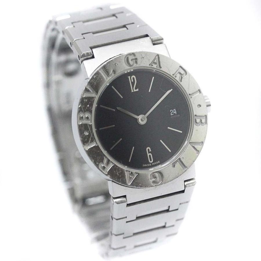 特売 ブルガリ ブルガリブルガリ BB26SS 腕時計 送料無料 レディース クオーツ ブラック文字盤 シルバー 腕時計 BB26SS 送料無料 BVLGARI, イーストアンドウエスト:d2d5c6a0 --- airmodconsu.dominiotemporario.com