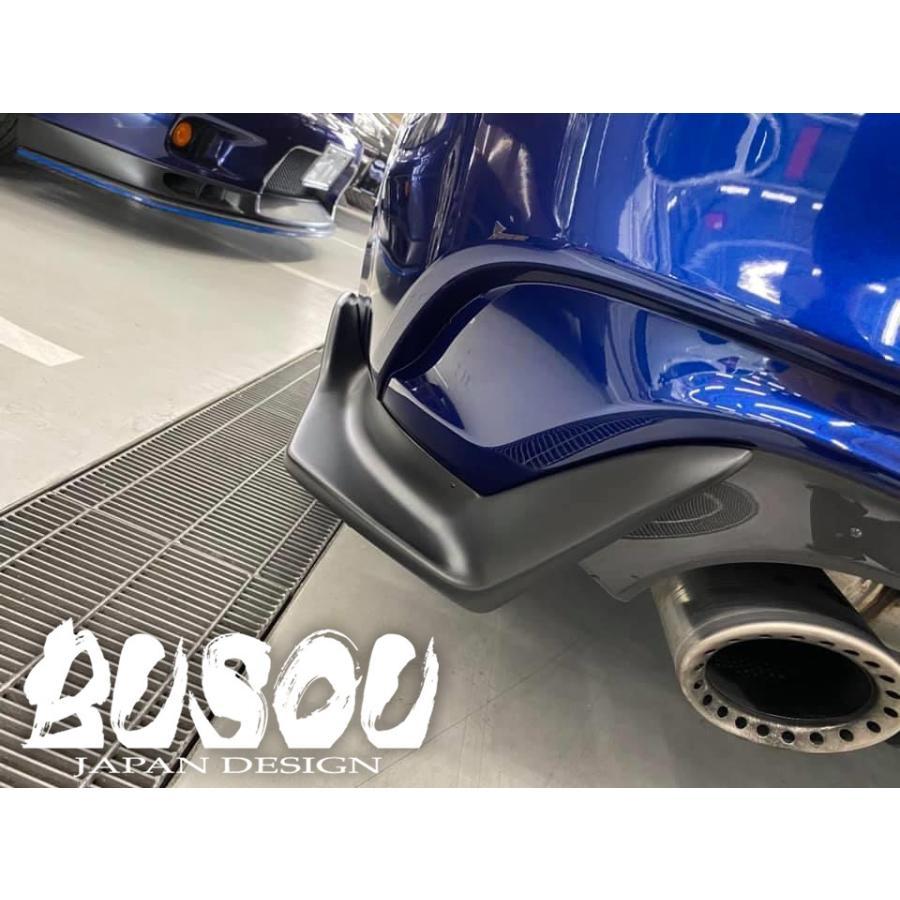 BUSOU ( ブソウ ) 正規販売店 スカイライン V37 (2019/7モデル) エアロ リアサイドスポイラー マットブラック BSL0005MB|goldrush-store|02
