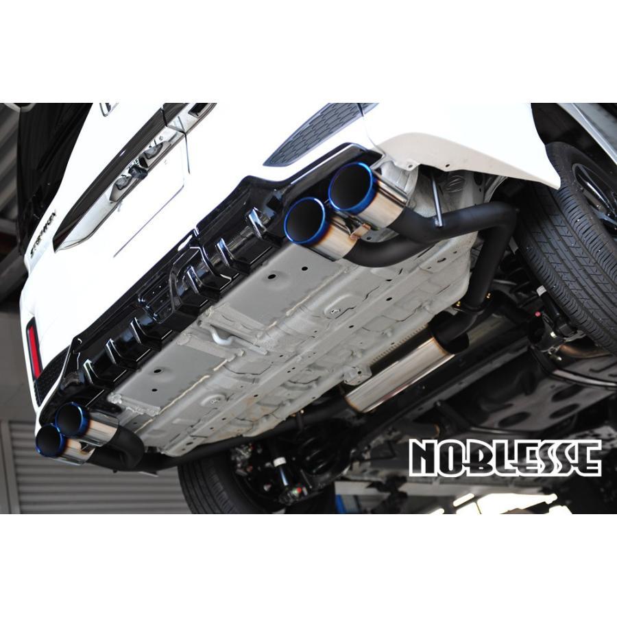 ノブレッセ  RP ステップワゴン SPADA 前期用 左右4本出し マフラー タイプT01 STDステン 2WD ガソリン車