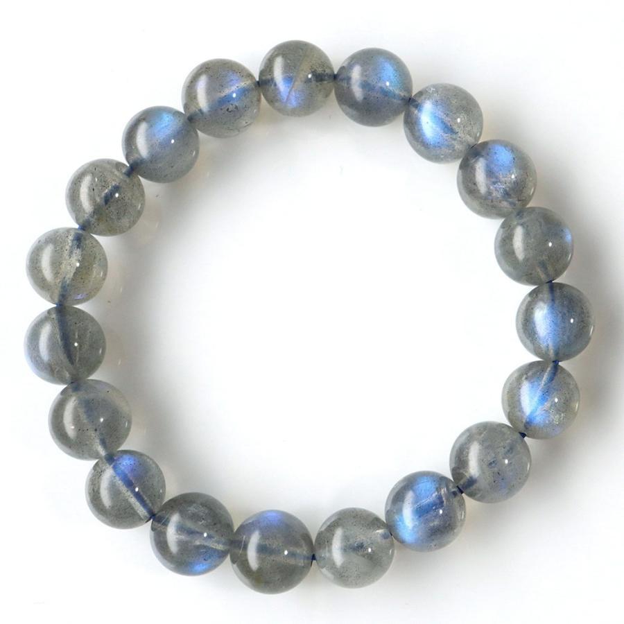 【即納】 ラブラドライト ブレスレット 10mm ブルーに輝くシラー 天然石 パワーストーン, BOOKS 21 7cefbbc1