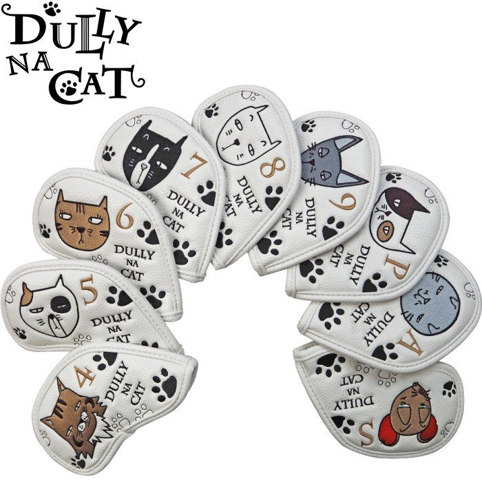 DULLY NA CAT ダリーナキャット アイアンカバー 9個セット(4-9.P.A.S)