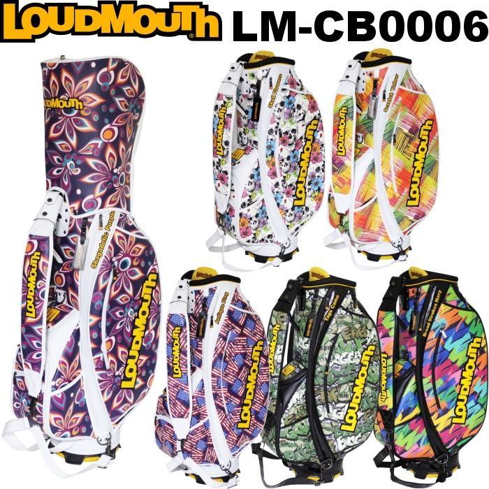 LOUDMOUTH ラウドマウス  LM-CB0006 キャディバッグ 9型