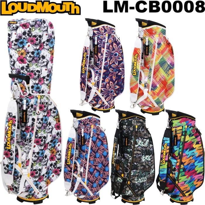 LOUDMOUTH ラウドマウス  LM-CB0008 キャディバッグ 9型