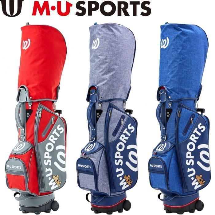 M・U SPORTS MUスポーツ 703P2104 キャディバッグ ローリングソール