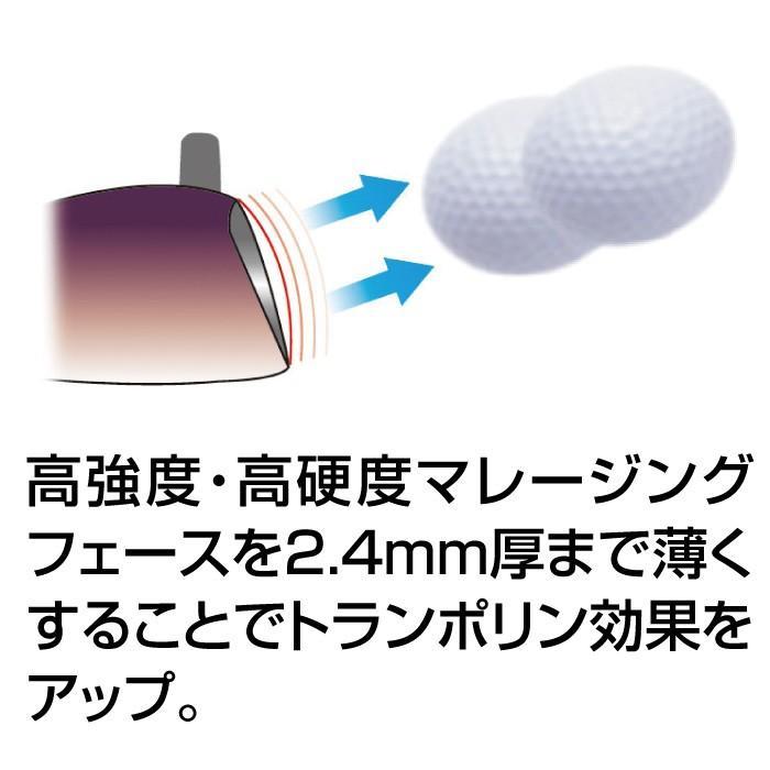 デリンジャー 高反発ゴールドブラッシー ヘッドカバー付き|golf-club|04