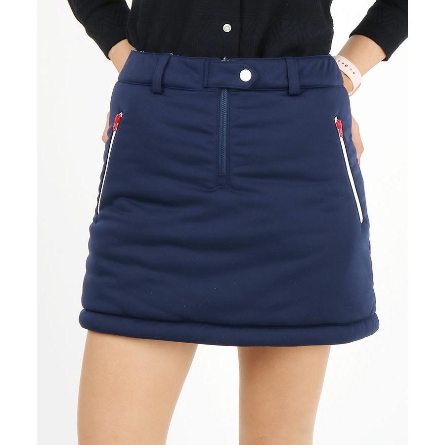「C」総柄×Simpleリバーシ中綿スカート Callaway キャロウェイ 19秋冬新作 ゴルフウェア レディース スカート