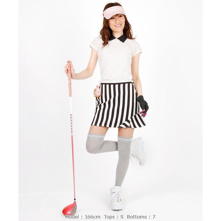 SALE Agile ロゴPoint衿付き半袖カットソー le coq golf ルコックゴルフ 19春夏新作 ゴルフウェア レディース 半袖カットソー