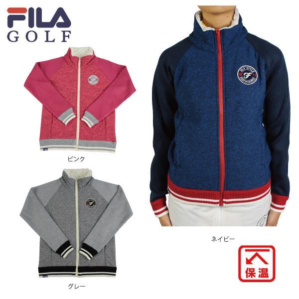 新作 2019秋冬 FILA GOLF フィラゴルフ 799210 ニットブルゾン レディース ブルゾン アウター 保温