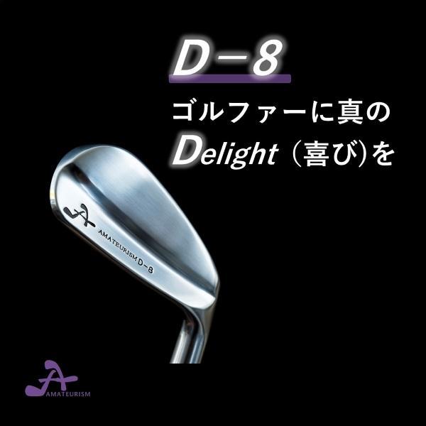 アマチュアリズム フラットバックアイアン D8モデル