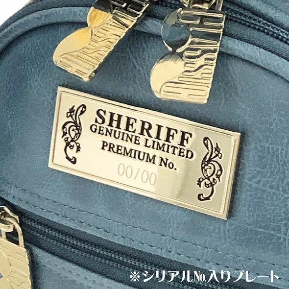 【先行予約】レトロな個性派 キャディバッグ 【SHERIFF】 シェリフ ゴルフバッグ メンズ レディース ターコイズ ブルー 数量限定 SFC-012CB-TURQUOISE|golf-regolith|07