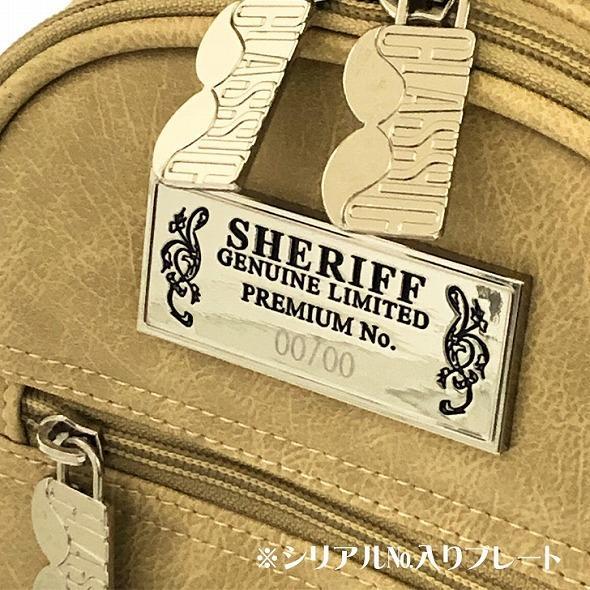 【先行予約】レトロな個性派 キャディバッグ 【SHERIFF】 シェリフ ゴルフバッグ メンズ レディース ベージュ 数量限定 SFC-012CB-VANILA golf-regolith 07