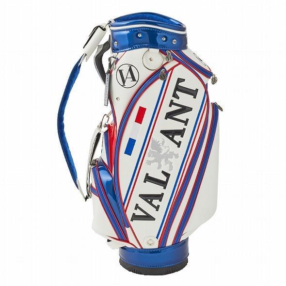 【先行予約】男前カラーの配色【VALIANT】 ヴァリアント かっこいい 数量限定 キャディバッグ ゴルフバッグ メンズ 青 白 ホワイト VA-005CB-FRANCE|golf-regolith|04