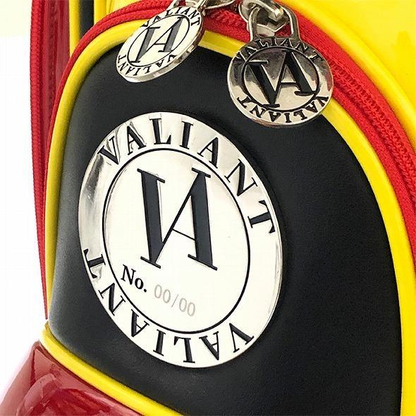 【先行予約】男前カラーの配色【VALIANT】 ヴァリアント かっこいい 数量限定 キャディバッグ ゴルフバッグ メンズ ブラック 黒 赤 VA-005CB-GERMANY|golf-regolith|07