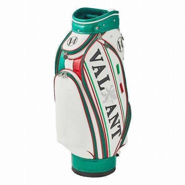 【先行予約】男前カラーの配色【VALIANT】 ヴァリアント かっこいい 数量限定 キャディバッグ ゴルフバッグ メンズ 緑 白 ホワイト VA-005CB-ITALY|golf-regolith|03