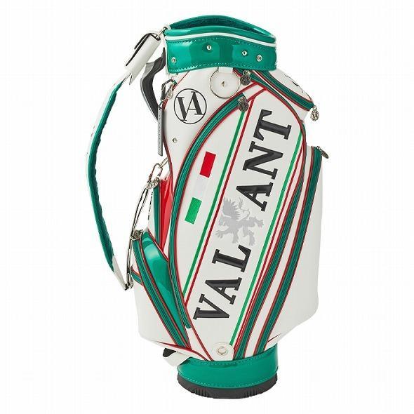 【先行予約】男前カラーの配色【VALIANT】 ヴァリアント かっこいい 数量限定 キャディバッグ ゴルフバッグ メンズ 緑 白 ホワイト VA-005CB-ITALY|golf-regolith|04