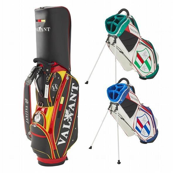 【先行予約】男前カラーの配色【VALIANT】 ヴァリアント かっこいい スタンド キャディバッグ ゴルフバッグ メンズ ブラック 黒 赤 VA-006CB-GERMANY|golf-regolith|09