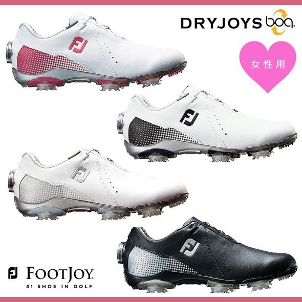 フットジョイ FOOTJOY DRYJOYS Boa ドライジョイズ ボア ゴルフシューズ レディース【99068】【99069】【99071】【99072】2019年継続モデル