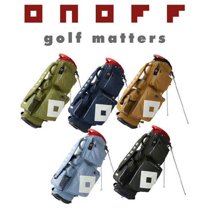 オノフ ゴルフ スタンド式 キャディバッグ ONOFF【OB0317】【2019年継続モデル まもなく完売終了。】
