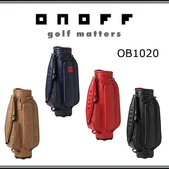 【今だけ特別価格!】ONOFF オノフ ゴルフ キャディバッグ OB1020 2020年モデル