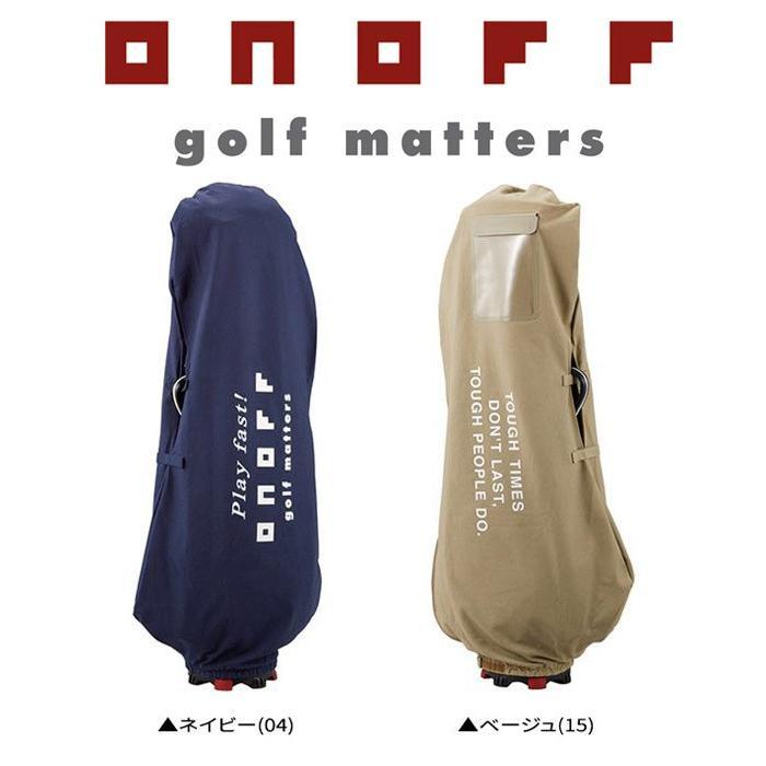 ONOFF オノフ ゴルフ トラベルカバー (ケース) 【OY0316】【2019年継続モデル】