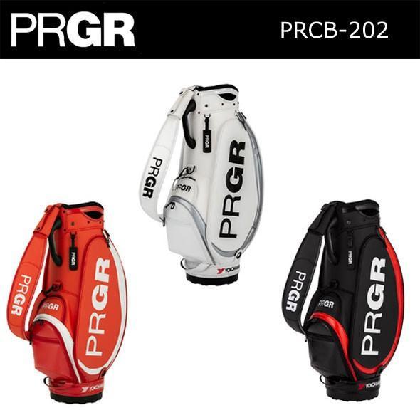 PRGR プロギア キャディバッグ スポーツモデル プロ仕様コンパクトモデル PRCB-202 2020年モデル