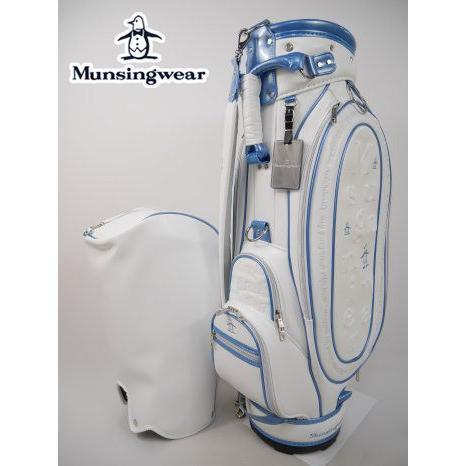 マンシングウェア Munsingwear ゴルフ キャディバッグ (8.5型(46インチ対応・3.4kg):レディース) 30%OFF/SALE