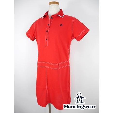 期間限定クーポン配布中 マンシングウェア Munsingwear ゴルフウェア 半袖ワンピース (L寸:レディース) 春夏 40%OFF/SALE
