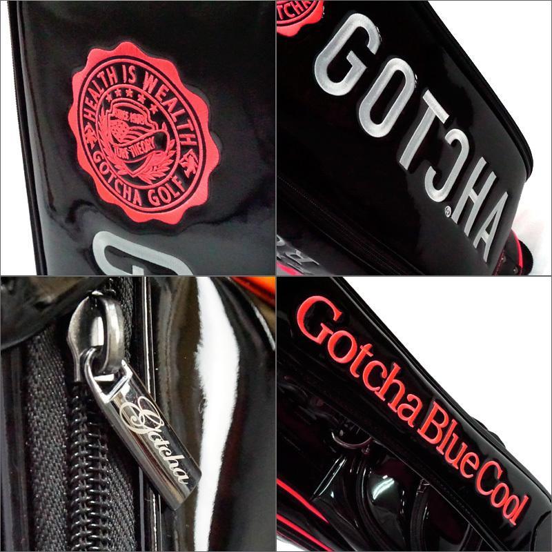 ガッチャゴルフ 2021 9型 キャディバッグ エナメル ネオン 99GG8538 GOTCHA GOLF  21SS ゴルフバッグ ゴルフ用バッグ MAY3 golf-thirdwave 08