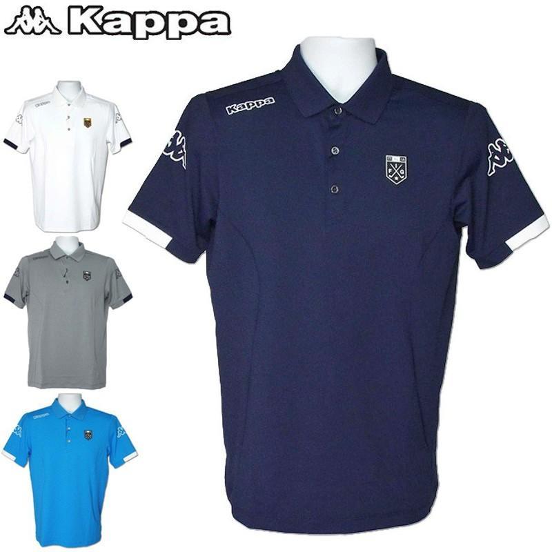 メール便発送OK カッパゴルフ メンズ 全方向ストレッチ 半袖ポロシャツ KG912SS22 Kappa Golf 19SS 男性用 ゴルフウェア メンズウェア トップス 半そで|golf-thirdwave