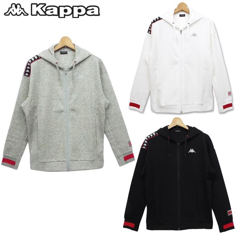 カッパ メンズウエア 長袖 ジャケット パーカー KM752KT42 Kappa 新品 17FW スポーツウェア アウター ジャージ|golf-thirdwave