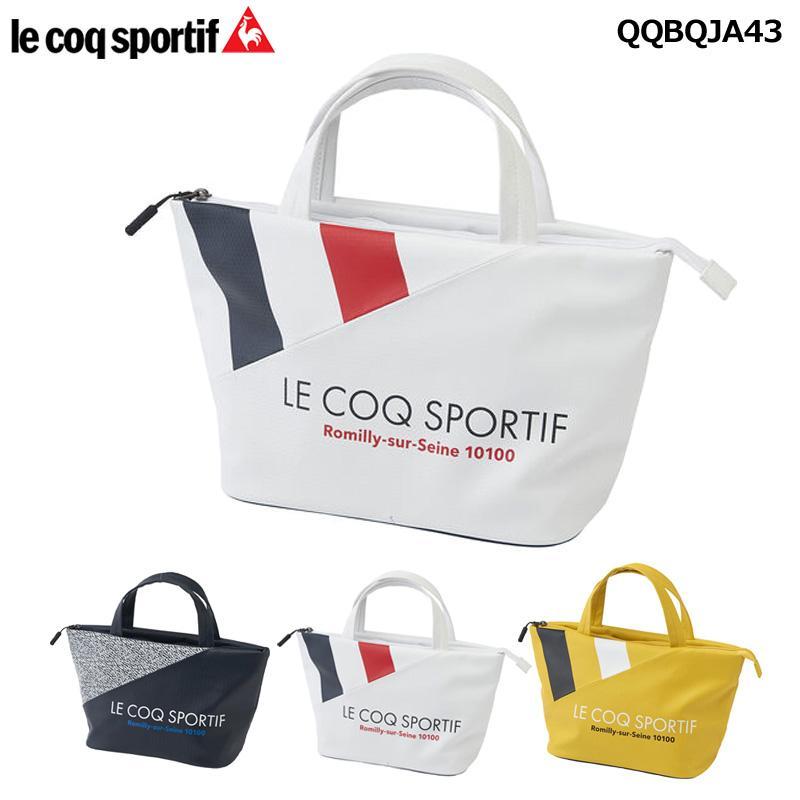 ルコック ゴルフ ミニトートバッグ QQBQJA43 20FW ルコックスポルティフ Le coq sportif ラウンドバッグ カートポーチ|golf-thirdwave