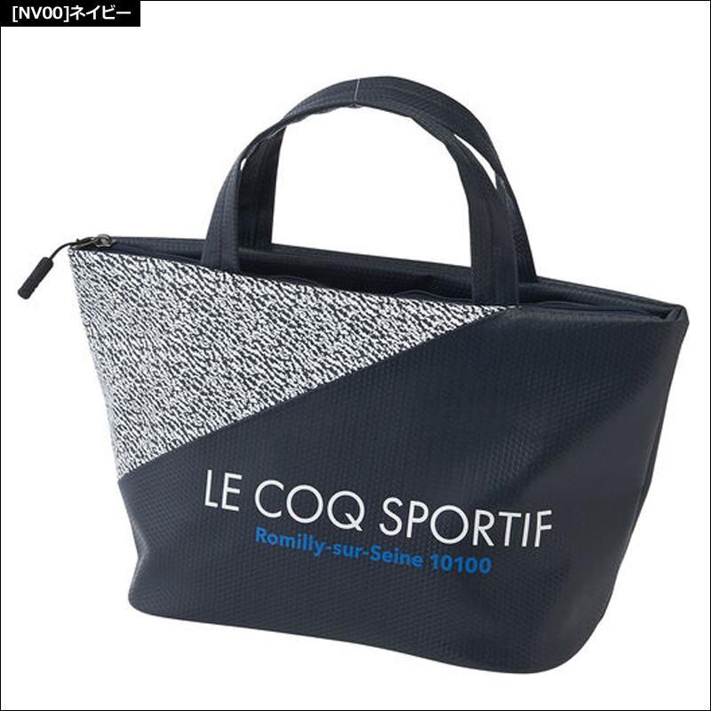 ルコック ゴルフ ミニトートバッグ QQBQJA43 20FW ルコックスポルティフ Le coq sportif ラウンドバッグ カートポーチ|golf-thirdwave|02