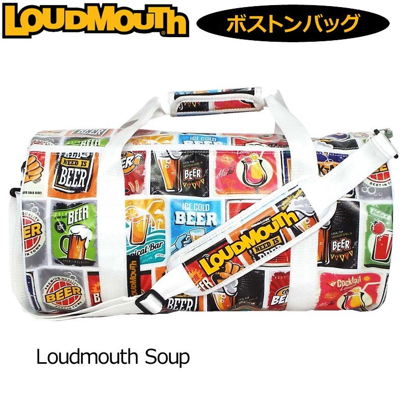 日本規格 ラウドマウス 2019 ドラムバッグ Loudmouth Soup ラウドマウス スープ LM-BB0005/769994(177) 19SS Loudmouth ゴルフ用バッグ ボストンバッグ