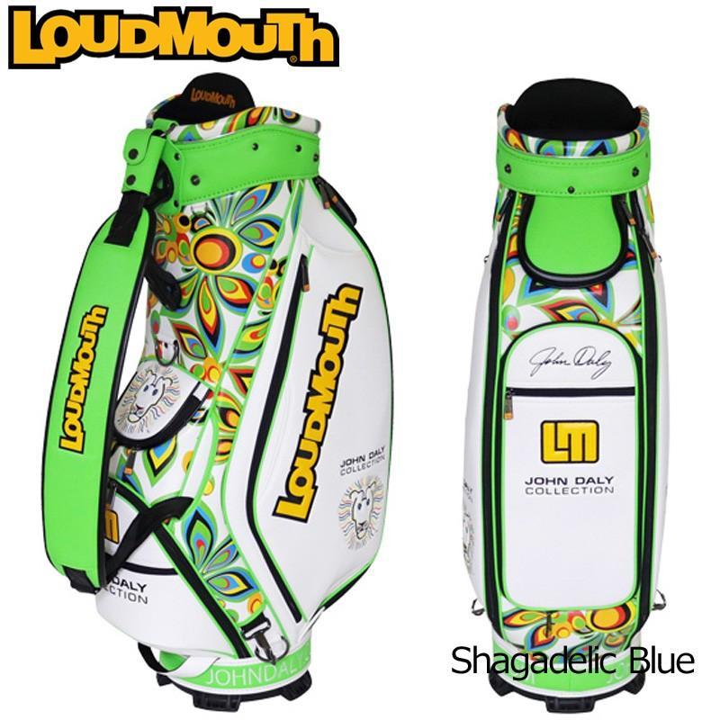 日本規格 生産数量限定 ラウドマウス 3点式 9型キャディバッグ ジョン・デーリーコレクション JD-CB0002 JOHN DALY ゴルフ用バッグ Loudmouth