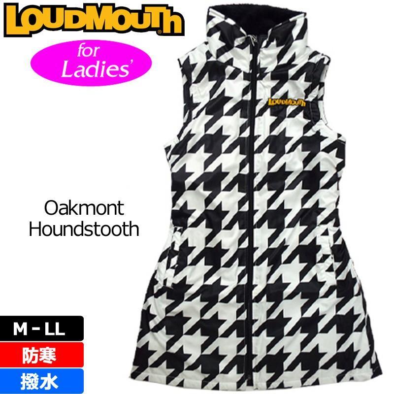 ラウドマウス Loudmouth ゴルフ ワンピース 中綿ベスト (002) オークモント 726706 秋 冬 新品 日本規格 16FW アウター