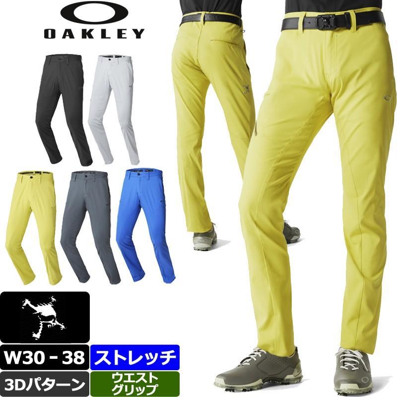 オークリー スカル タイトテーパード 3D ロングパンツ 422511JP Oakley SKULL H/O STRETCH 3D TAPE赤 7.0 18FW ゴルフ メンズウェア ボトムス ストレッチ