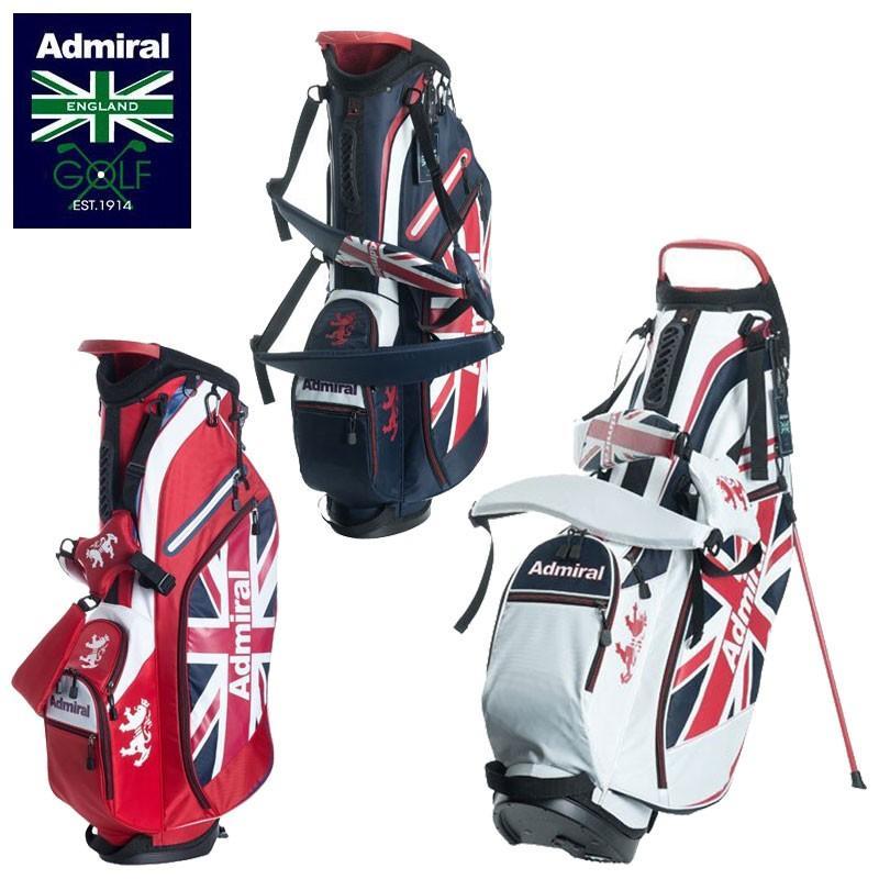 アドミラルゴルフ 9型 軽量 スタンドバッグ ADMG8SCA ライトウェイト 日本正規品 Admiral Golf ゴルフバッグ スタンド式 キャディバッグ ゴルフ用バッグ