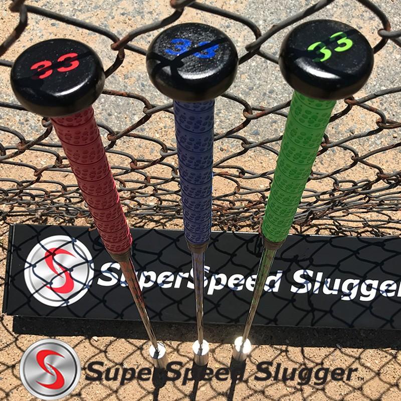スーパースピードスラッガー プロ(高校生〜プロ向け) 3本セット Super Speed Slugger 日本正規品 野球 練習 素振り ヘッドスピード アップ トレーニング