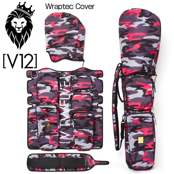 【お気にいる】 V12 V12 ゴルフ ラップテックカバー単品 V121721-CV13L 8.5型キャディバッグ用 BLACK CAMO 17FW V121721-CV13L 17FW, みきぞうママのタオル工房:75398fb3 --- airmodconsu.dominiotemporario.com