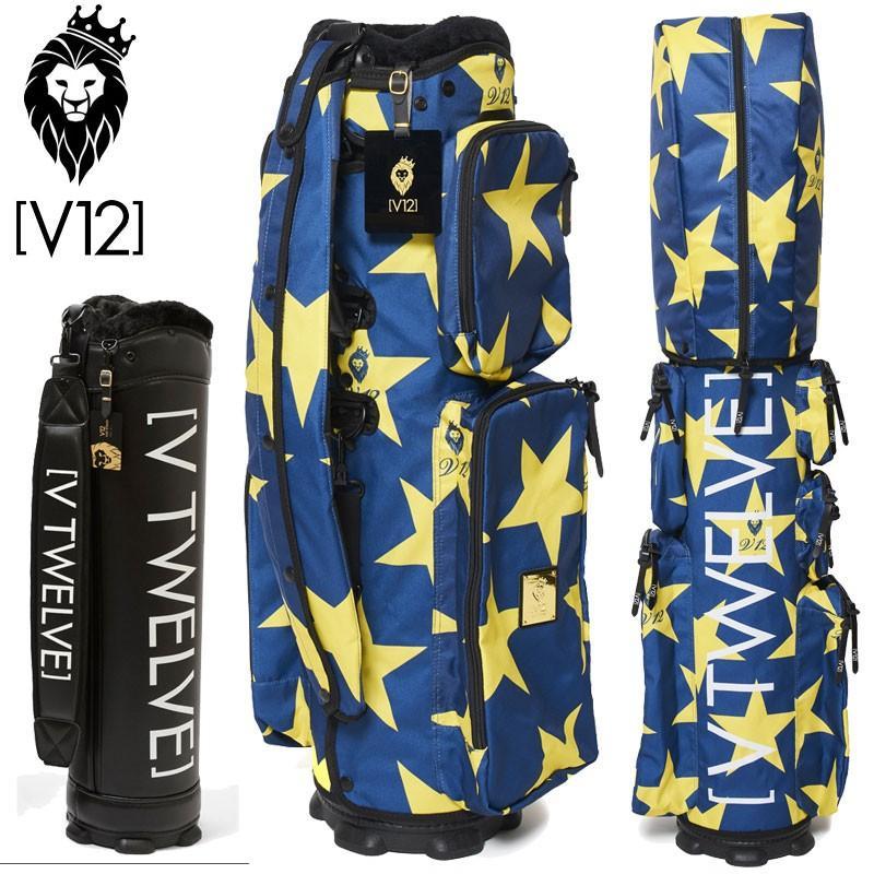 V12 ゴルフ ヴィ・トゥエルヴ 8.5型 キャディバッグ セット Star 青 V121920-CV02L_75(青)/本体V121800-BS01L 19SS 着せ替え ラップテック ゴルフ用品