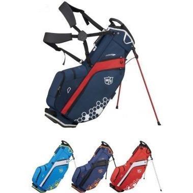【本物新品保証】 ゴルフ キャディーバッグ メンズ ウィルソン WILSON FEATHER CARRY BAG キャディバッグ 2019モデル, トミアイマチ 1644727f