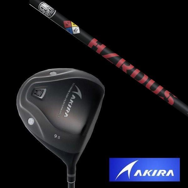 新しいコレクション AKIRA アキラ ADR PLATINUM ドライバー 適合モデル トゥルーテンパー PROJECT X HZRDUS RED シャフト/ヘッドカバー付, indigo 8471b3a3