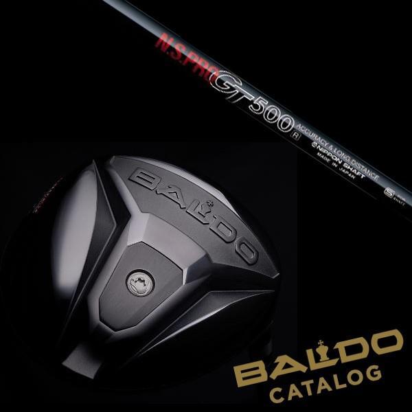 【BALDO】バルド TTX STRONG LUCK 420 ドライバー ★ N.S.PRO GT500 シャフト【ヘッドカバー付】【5営業日以内に発送】