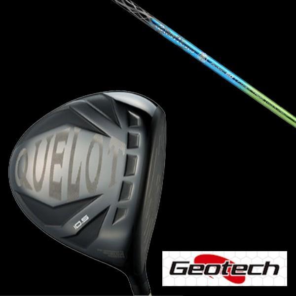 ジオテック【Geotech】 どQUELOT 黒 Label SLE ドライバー★ PRO SPEC Zaffiro2 シャフト【ヘッドカバー付】