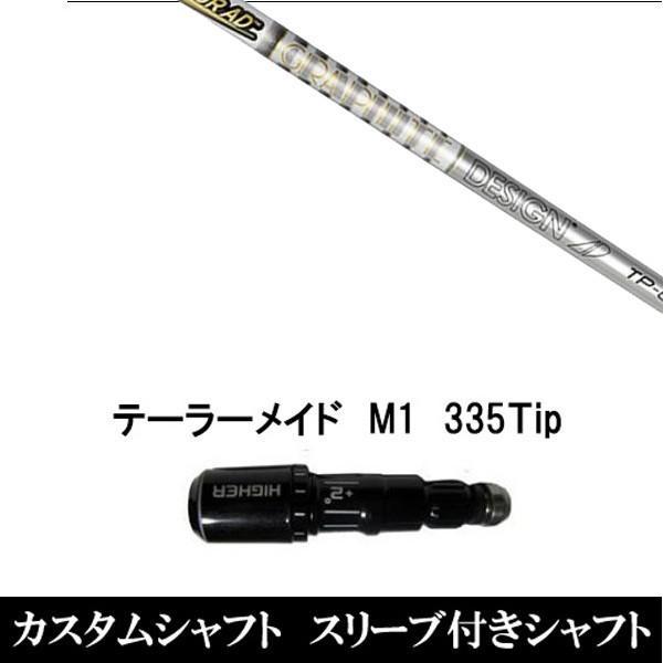 新品スリーブ付シャフト TOUR AD TP テーラーメイド M1/M2用スリーブ装着 ドライバー用(スリ ーブ非純正)